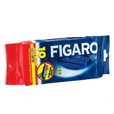 Figaro Станки для бритья с двойным лезвием и смягчающей полоской 10 шт. в уп.